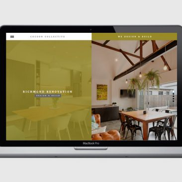 Cocoon Collective - Website Design